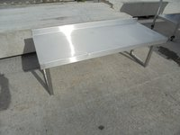 Steel gantry shelves