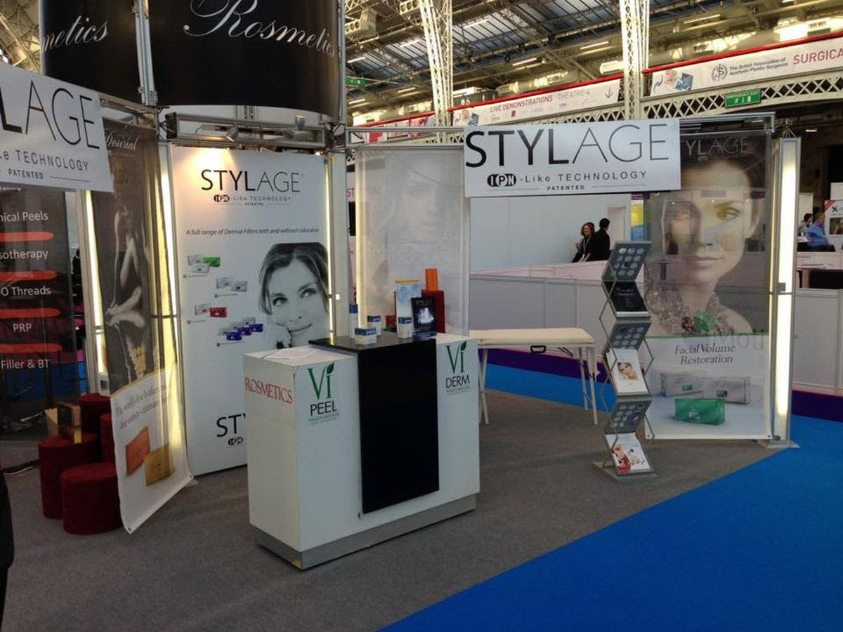 Exhibition Stand Legs : Secondhand exhibition and display equipment
