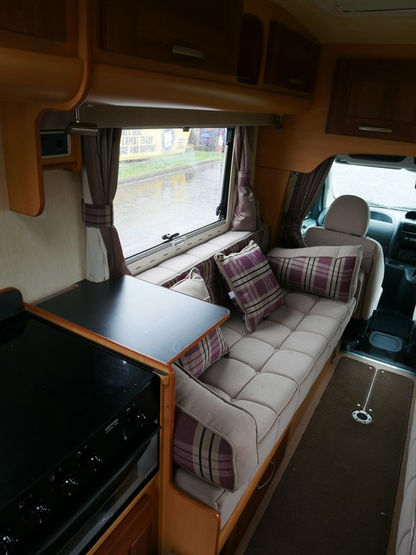 Two berth two bed Motorhome