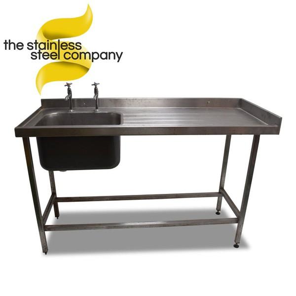 Steel single sink for sale