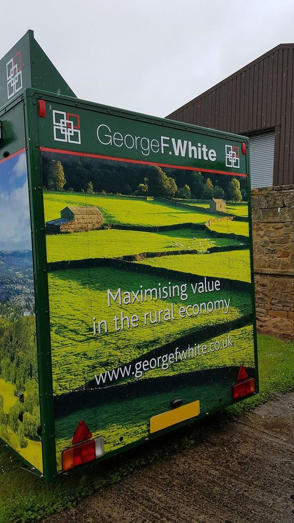 twin axle trailer UK
