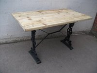 Rustic top pub tables for sale