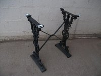 Iron cast table bases for sale