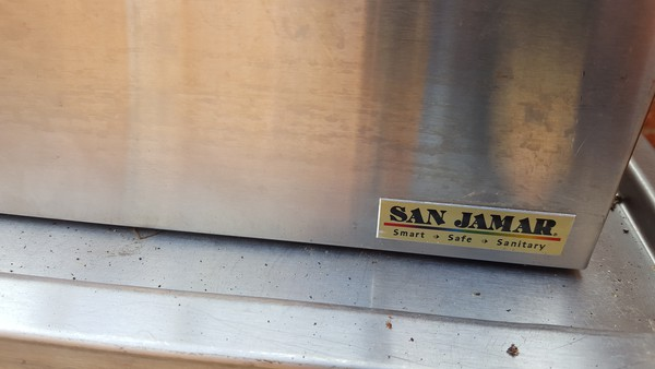 San Jamar 3 group Sauce Dispenser