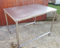 Stainless Steel Preparation Table