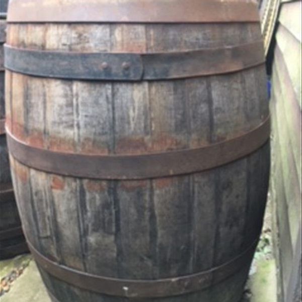 Pub decor barrels