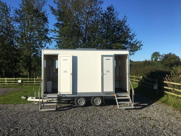 secondhand toilet trailer UK