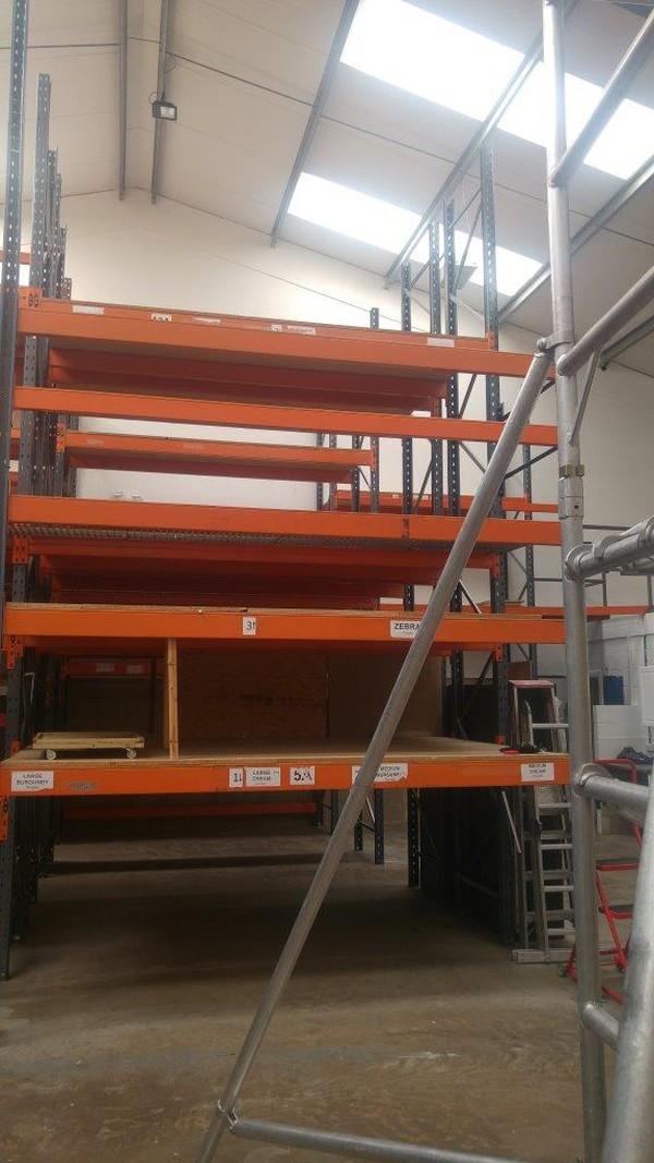 Heavy duty rack storage