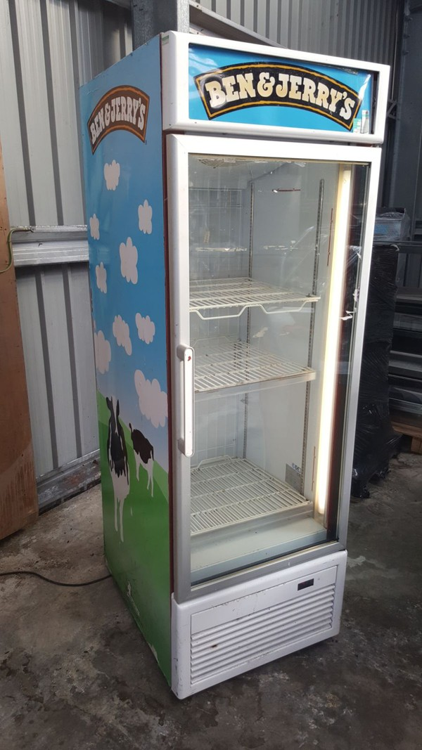 Ben and Jerrys Display Freezer