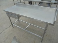 Used commercial steel table for sale