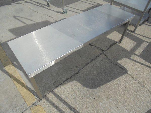 Used Stainless Steel Gantry Shelf