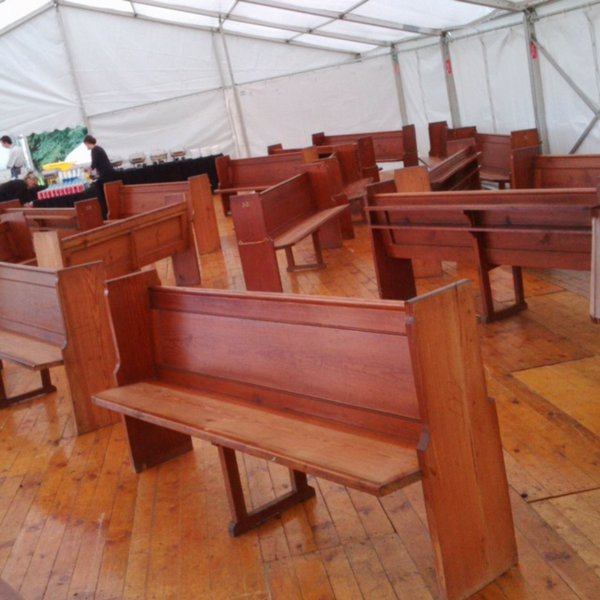 Used Church benches