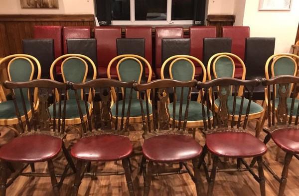 Secondhand Restaurant chairs