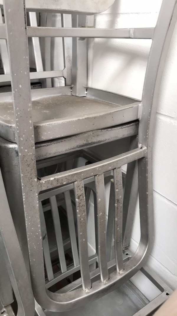 Mezzi Aluminium chairs