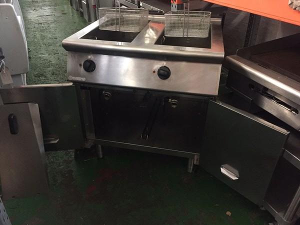 Mareno Electric Double Tank Fryer