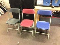 Folding samsonite chairs for sale