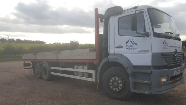 Second hand Mercedes Lorry