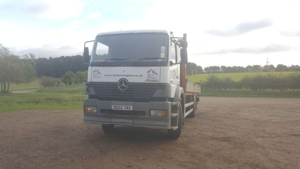 Used Mercedes Flatbed Lorry for sale