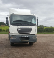 Used Multi axle flatbed trailer