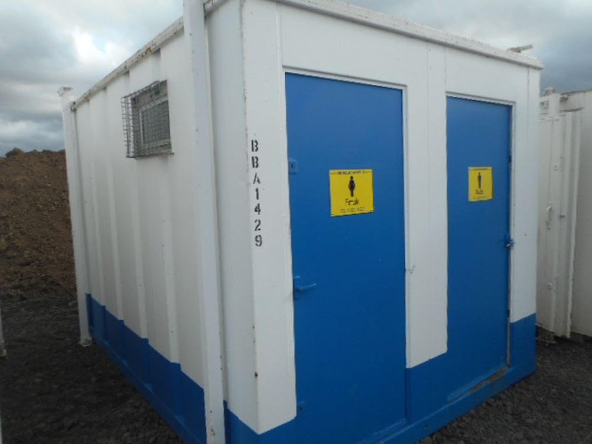 Secondhand Portable Buildings Toilet Cabins 12 X 9