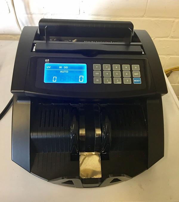 Quick sale cash counting machine