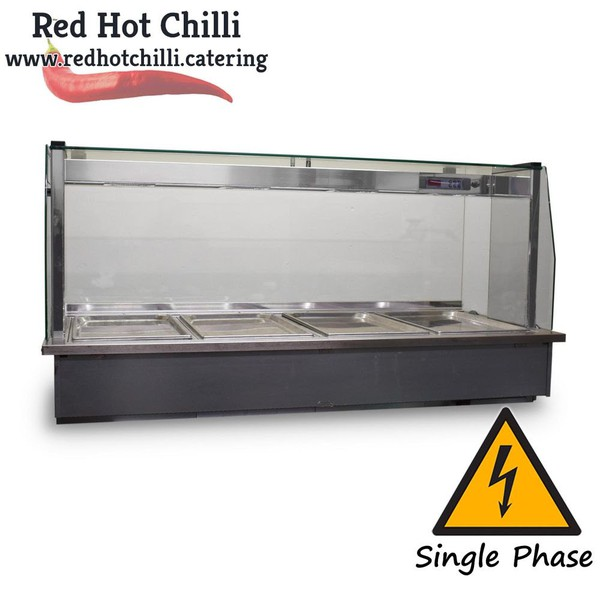 Used gastro heated display for sale