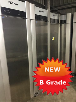 Upright fridge B Grade