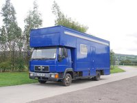 Man 7.5T Lorry With Living sleeps 3