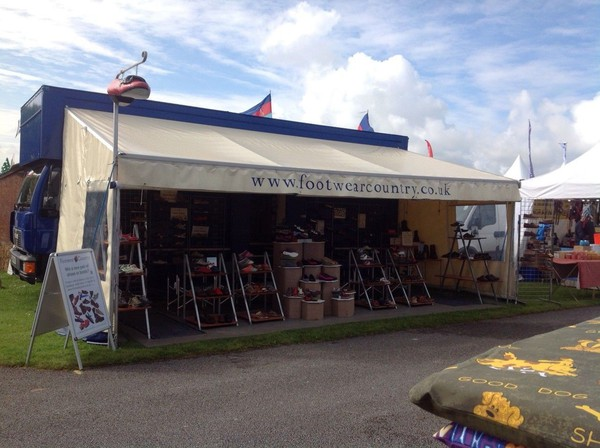 Lorry Exhibition Event 22ft Awning Used