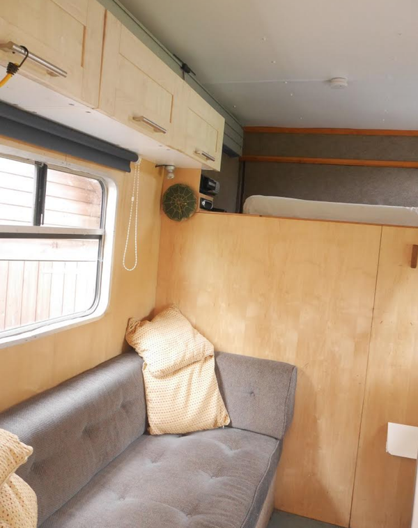 Lorry With Living with 22ft Awning Sleeps 3