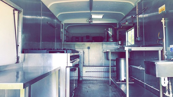 Used Vintage Catering Truck