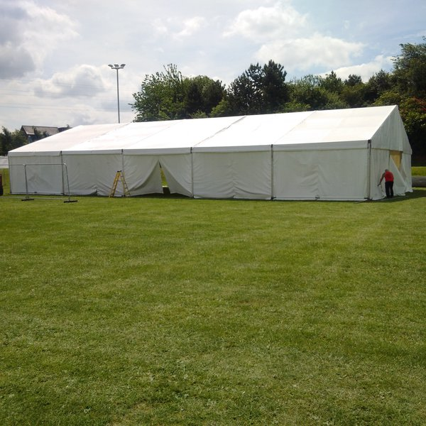 15m x 25m Clearpan marquee for sale