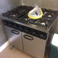 Buffalo - 6 Burner Natural Gas Oven Range (CE371-N)