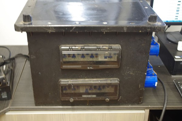 Used power distribution box