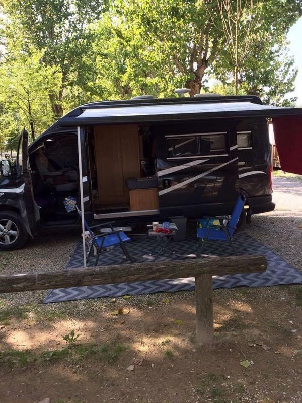 Secondhand transit campervan
