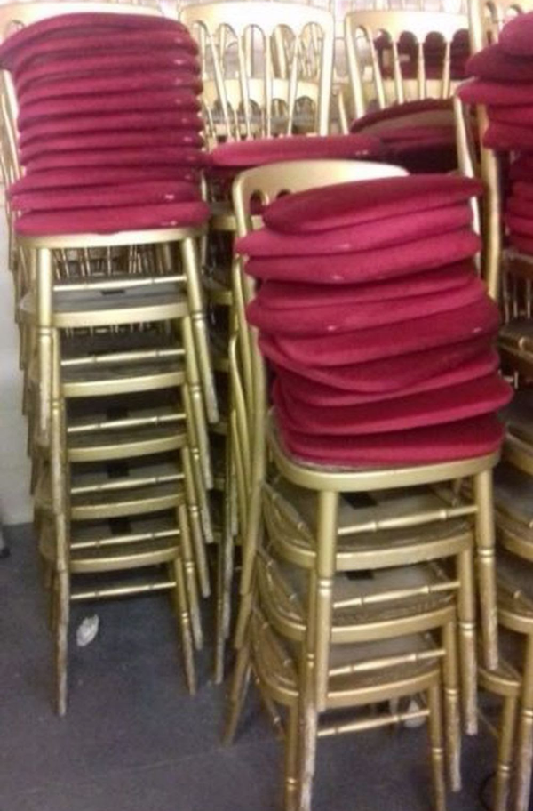 Used cheltenham chairs