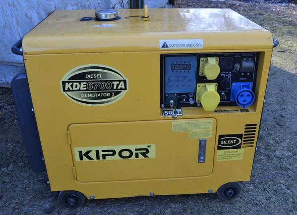 Secondhand generators for sale