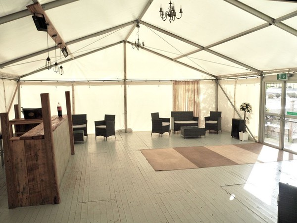 Secondhand Hoecker marquee for sale
