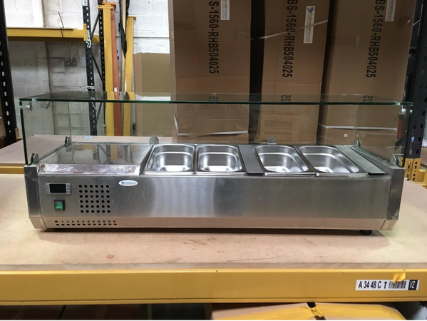 New counter top server's