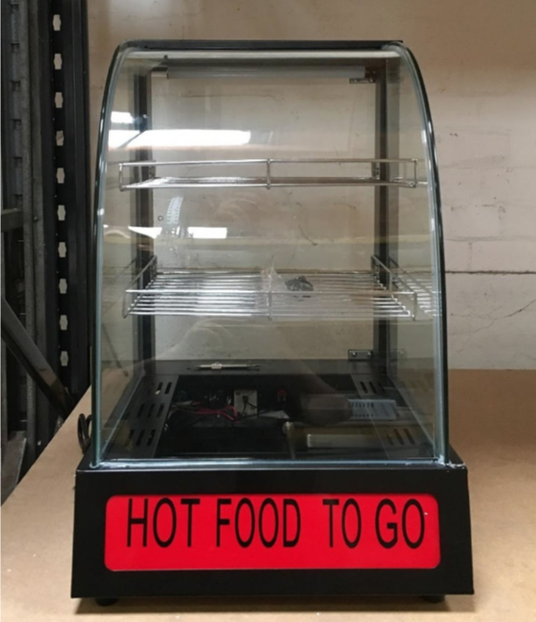 Ex display hot food display