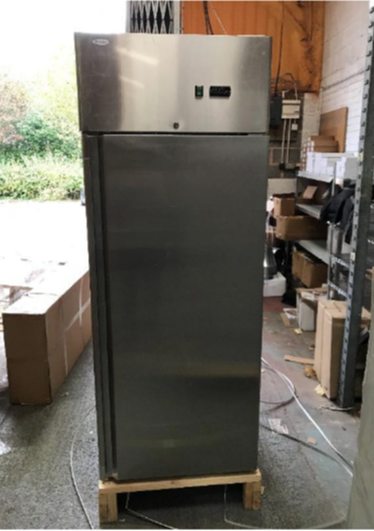 Ex display cabinet fridge for sale ... & Secondhand Catering Equipment | Upright Fridges | 600L Cabinet ...