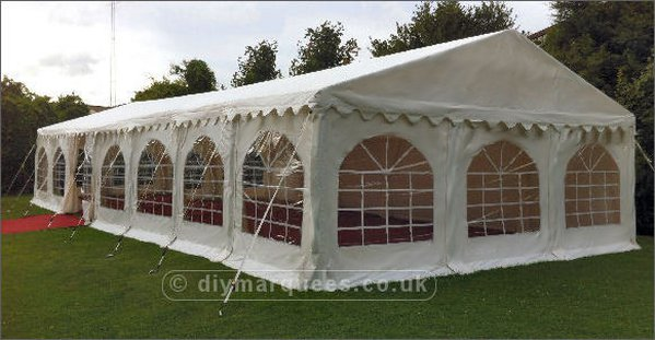 6m x 14m Framed marquee for sale