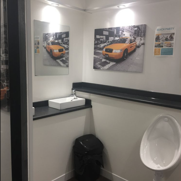 Ground Mounted Luxury Toilet Unit for sale