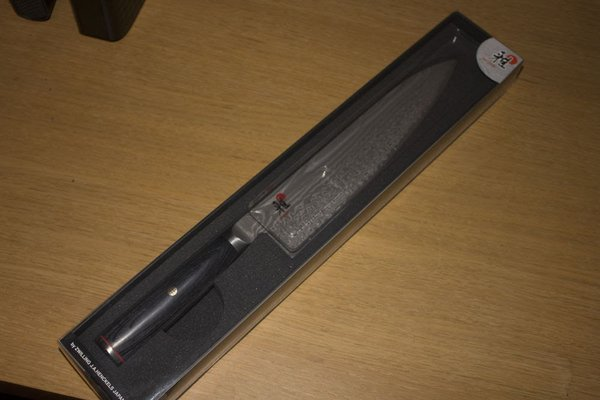 Zwilling Miyabi 5000FCD Guytoh 24cm Chefs Knife