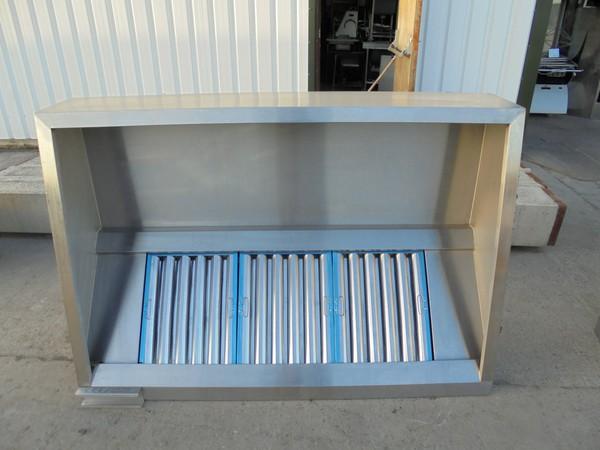 Used steel extraction fan