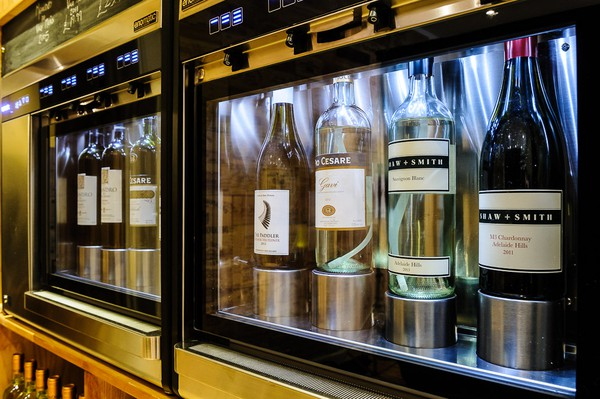 Used smart wine cooler