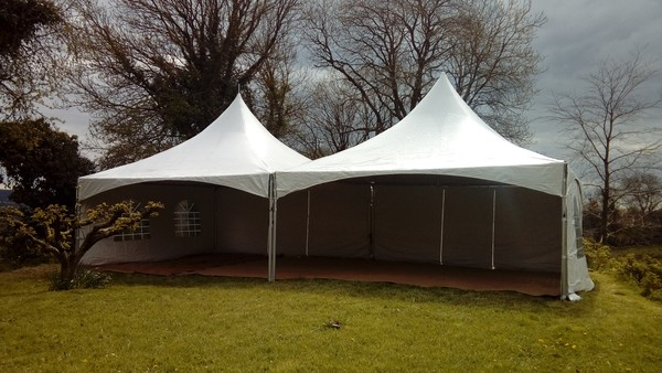 6m x 6m pagoda marquees