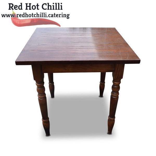 Used Darkwood tables