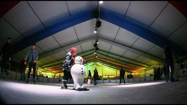 Ice Rink Indoor or Outdoor