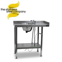 0.8m Stainless Steel Sink